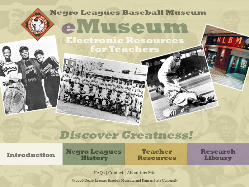 Negro League Baseball eMuseum